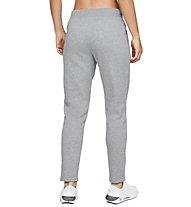 Under Armour Rival Fleece Open Hem - pantaloni fitness - donna, Grey