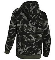 Under Armour Rival Fleece Plus Camo Hoodie - felpa con cappuccio - uomo, Black/Green