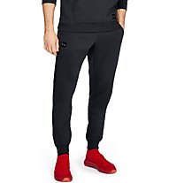 Under Armour Rival Fleece Script Jogger - Trainingshose - Herren, Black