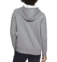 Under Armour Rival Fleece Sportstyle LC Graphic Full Zip - giacca con cappuccio - donna, Grey