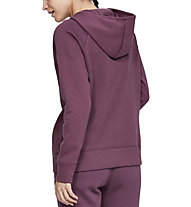 Under Armour Rival Fleece Sportstyle LC Graphic Full Zip - giacca con cappuccio - donna, Violet