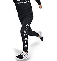 Under Armour Rival Jogger - pantaloni fitness - bambino, Black