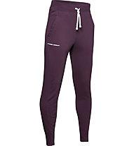 Under Armour Rival Jogger - pantaloni fitness - bambino, Violet