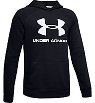 Under Armour Rival Logo - Kapuzenpullover - Kinder, Black