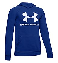 Under Armour Rival Logo - Kapuzenpullover - Kinder, Blue