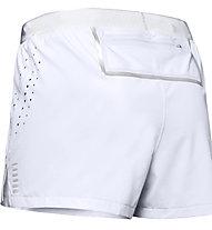 Under Armour Run Track - pantaloni corti running - donna, Grey