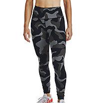 Under Armour Rush Camo Legging - Trainingshose - Damen, Black/Grey