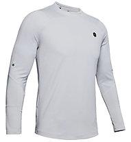 Under Armour RUSH™ ColdGear® - maglietta tecnica - uomo, Light Grey