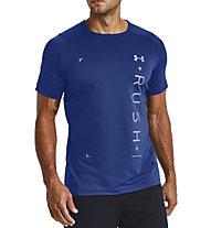 Under Armour RUSH™ HeatGear® 2.0 Graphic - T-shirt - Herren, Light Blue