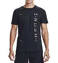 Under Armour RUSH™ HeatGear® 2.0 Graphic - T-shirt - Herren, Black