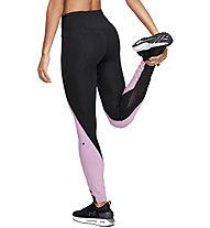 Under Armour RUSH™ - pantaloni fitness - donna, Black/Rose