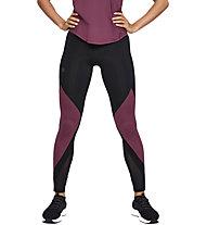 Under Armour RUSH™ - pantaloni fitness - donna, Black/Dark Red