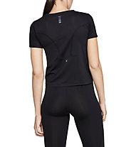 Under Armour RUSH™ Run - T-shirt running - donna, Black