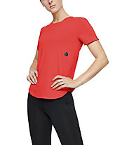 Under Armour RUSH Run - Laufshirt - Damen, Red