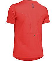 Under Armour RUSH™ Run - T-shirt running - donna, Red
