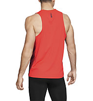 Under Armour RUSH Run - Laufshirt ärmellos - Herren, Red