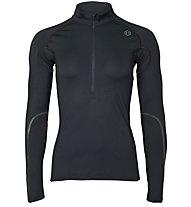 Under Armour RUSH Run ColdGear - Pullover mit Reißverschluss - Damen, Black
