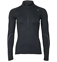 Under Armour RUSH™ Run ColdGear® - maglia running con zip - donna, Black