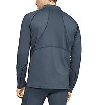 Under Armour RUSH Run ColdGear - Pullover mit Reißverschluss, Grey