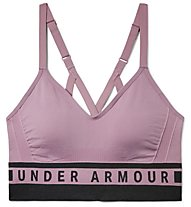 Under Armour Seamless Longline Bra - Sport BH leichter Halt - Damen, Violet