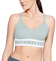 Under Armour Seamless Longline Bra - Sport BH leichter Halt - Damen, Green