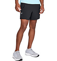 Under Armour Short UA Speedpocket Linerless 7 Short - Laufhose kurz - Herren, Black