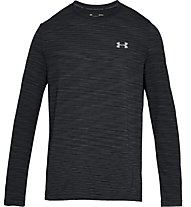 Under Armour Siphon LS - maglia fitness - uomo, Black