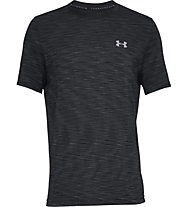 Under Armour Siphon - T-Shirt - Herren, Black/Grey