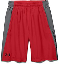 Under Armour Skill Woven Short Jungen, Red