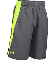 Under Armour Skill Woven Short Pantaloni corti fitness Bambino, Grey