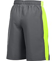 Under Armour Skill Woven Short Jungen, Grey