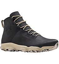 Under Armour Speedfit Hike Leather - Wanderschuh - Herren, Black/White