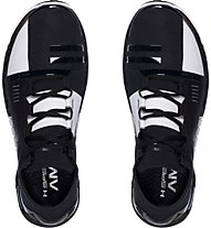 Under Armour SpeedForm AMP Trainingsschuhe Herren, Black/White