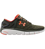 Under Armour Speedform Fortis LTD Herren Sneaker, Green/Light Orange