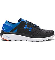 Under Armour Speedform Fortis LTD Herren Sneaker, Black/Anthracite