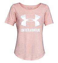 Under Armour Sportstyle Baseball T - T-Shirt - Damen, Pink