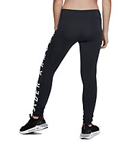 Under Armour Sportstyle Branded - leggings lunghi - ragazza, Black