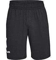 Under Armour Sportstyle Cotton Graphic - pantaloni fitness - uomo, Black