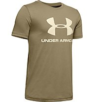 Under Armour Sportstyle Logo - T-Shirt - Kinder, Military Green