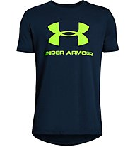 Under Armour Sportstyle Logo - T-shirt - ragazzo, Dark Blue