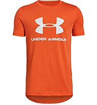 Under Armour Sportstyle Logo - T-Shirt - Kinder, Orange