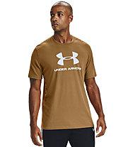Under Armour Sportstyle Logo - T-Shirt - Herren, Dark Yellow