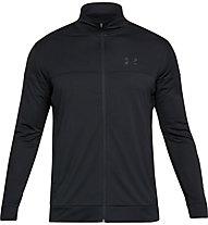 Under Armour Sportstyle Pique - giacca della tuta - uomo, Black