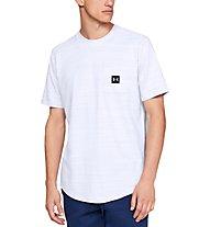 Under Armour UA Sportstyle Pocket - T-Shirt - Herren, White