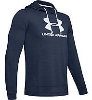 Under Armour Sportstyle Terry Logo, Dark Blue