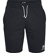 Under Armour Sportstyle Terry - pantaloni corti fitness - uomo, Black