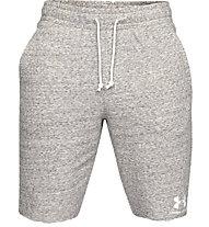 Under Armour Sportstyle Terry - pantaloni corti fitness - uomo, Grey