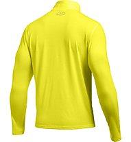 Under Armour Streaker 1/4 Zip -  langärmeliges Fitnessshirt Herren mit Reißverschluss, Flash Light