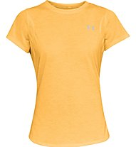 Under Armour Streaker 2.0 - Laufshirt - Damen, Orange/Yellow