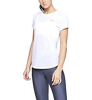Under Armour Streaker 2.0 - maglia running - donna, White